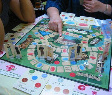 Pride and Prejudice - the board game