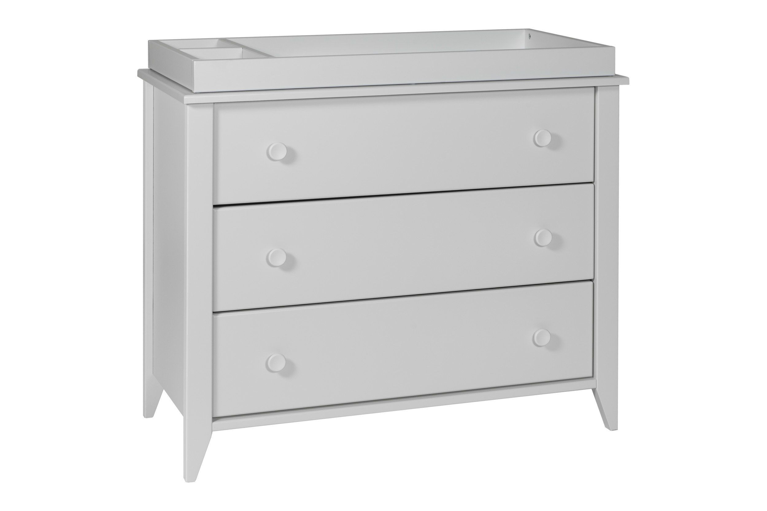 Sprout drawer changer dresser with removable changing tray