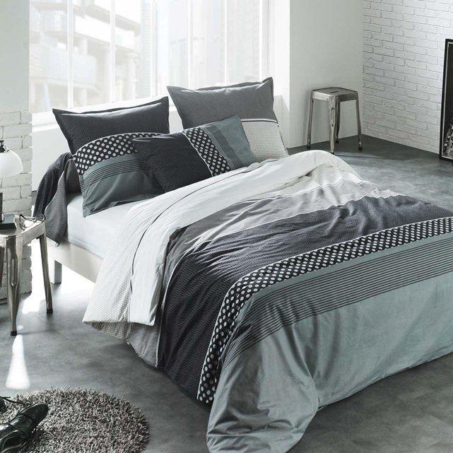 Housse de couette taie eiffel c design home textile