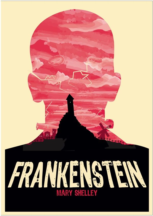 Frankenstein Book Cover Art ~ Frankenstein mary w shelley books pinterest
