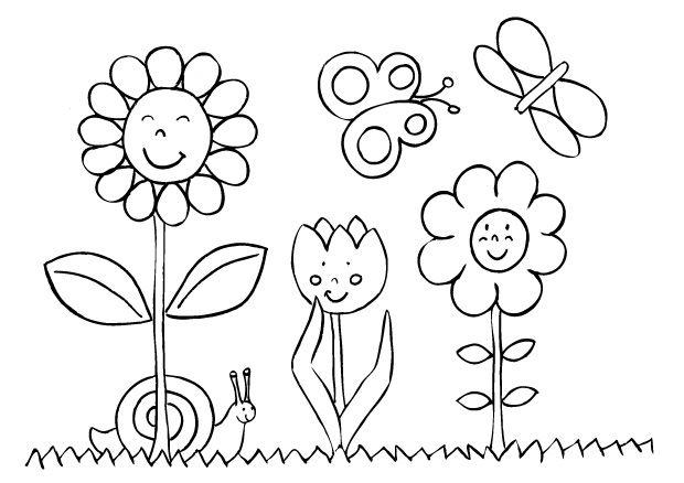 Fleur Fleurs Coloriage Fleur Coloriages Fleurs Site Educatif