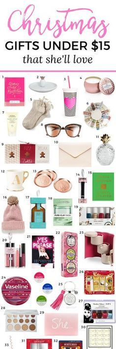 The Best Christmas Gift Ideas For Women Under 15 You Won T Want To Miss This Adorable Guide Created By Florida Beauty And Fashion