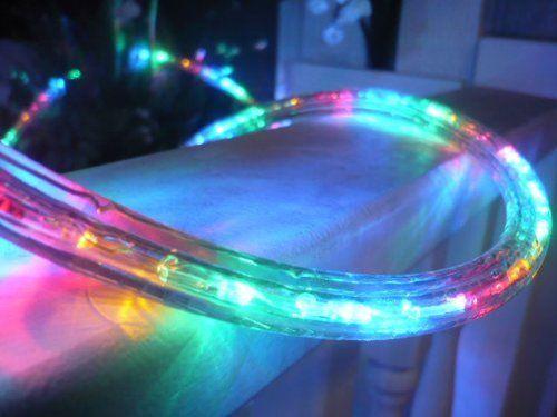 12v Rope Lights 10ft Multi Color Led Rope Light Kit Christmas
