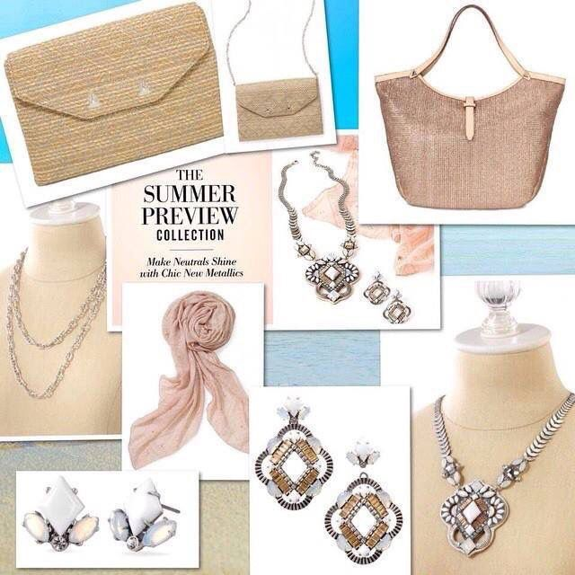 Summer Preview Collection. Beautiful colors for summer. Stella & Dot!