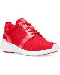 watch 72a1a 517cf Michael Kors   Michael Amanda Trainer Sneakers   Lyst
