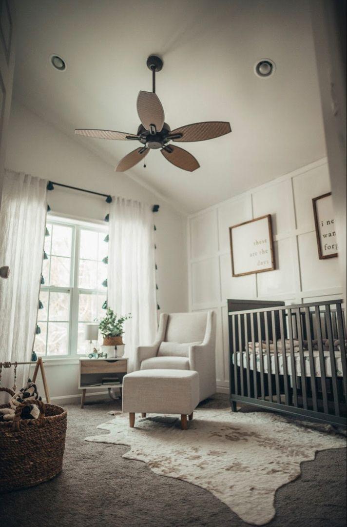 Farmhouse Nursery Gender Neutral Baby Nursery Room Ideas In 2020
