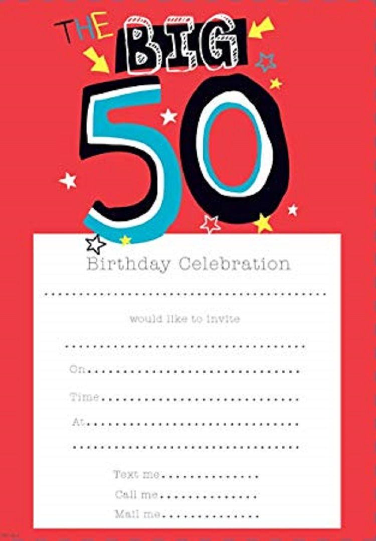 50th Birthday Invitations Uk Party Ideas Invitations 50th