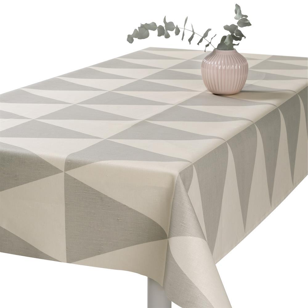 Rime Oilcloth Fog Grey Oil Cloth Oilcloth Tablecloth Nordic