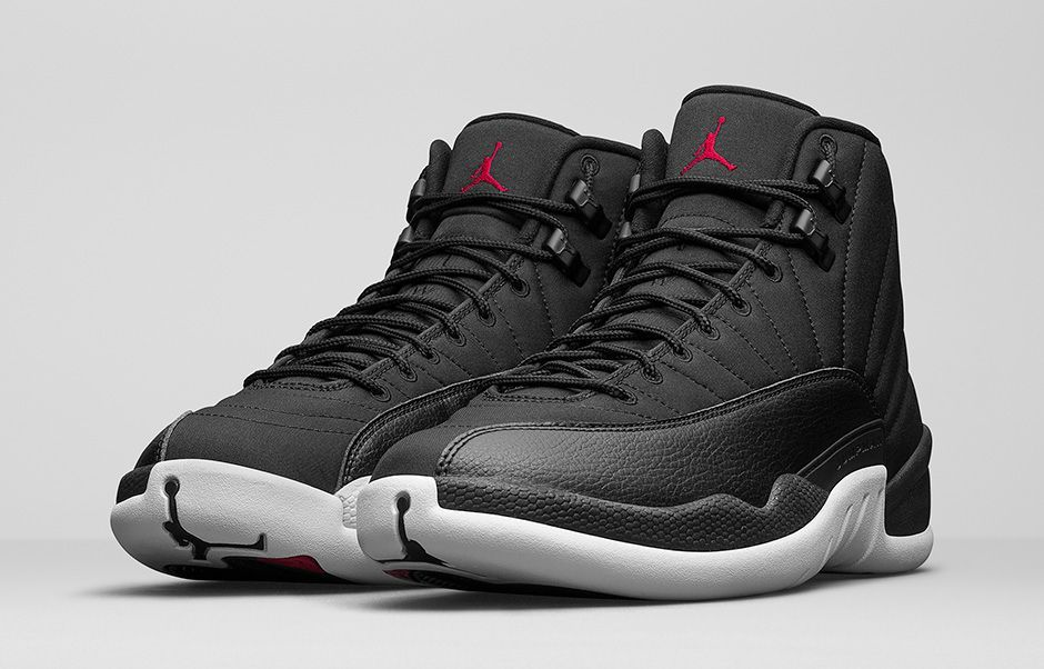 d97fa3345e4c7d This is the Air Jordan 12 Black Nylon official launch page. View the latest  images
