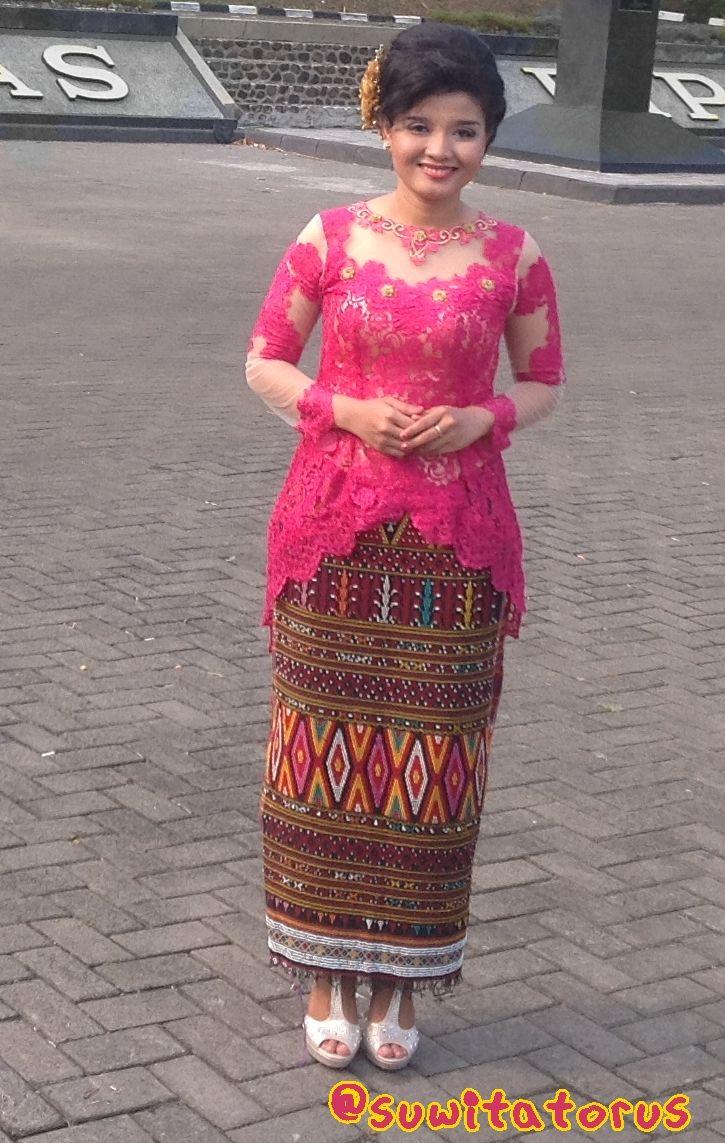 Ulos Batak Skirt Love Beautiful My Fashion Di 2019 Gaun