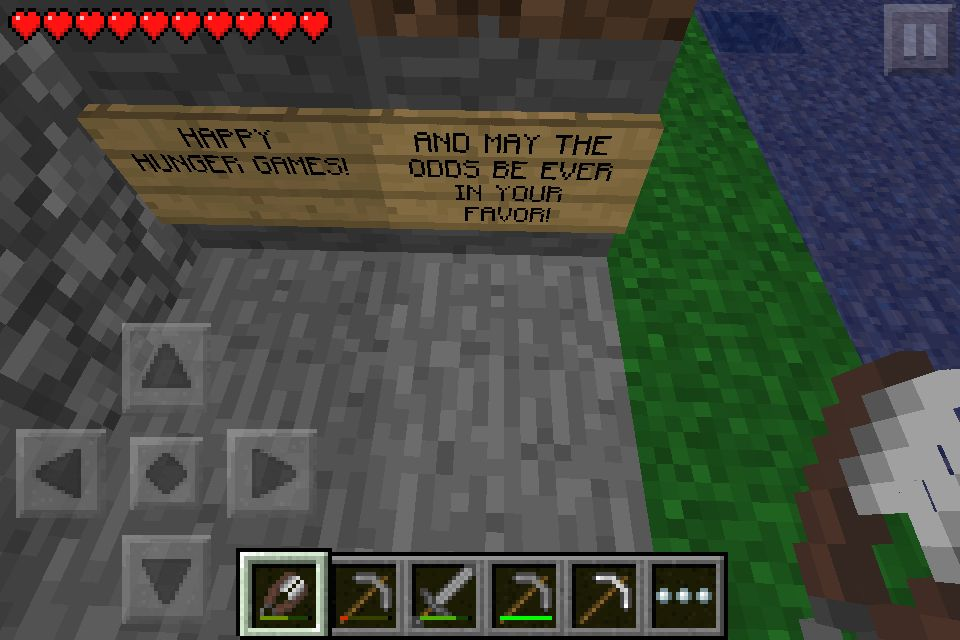 Hunger Games Server  It is awesome! Type in the seed -the hunger