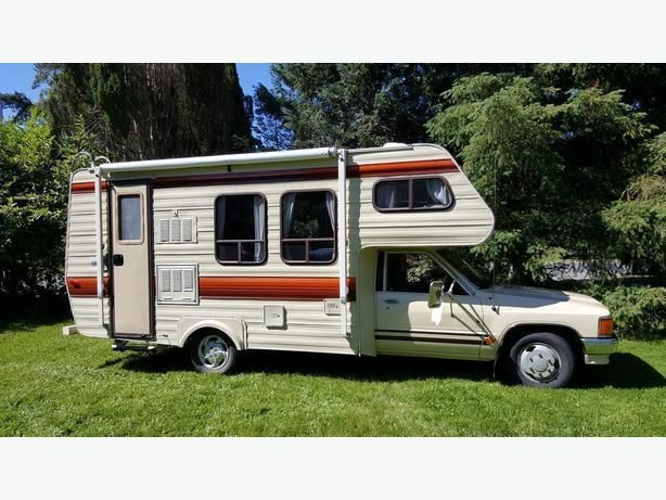 Toyota Slumber Queen Class C Mini Motorhome New Travel Trailers