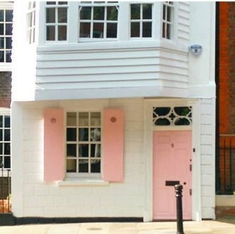 Pretty London House. With a new Banham Bell Box and Brass Banham ...