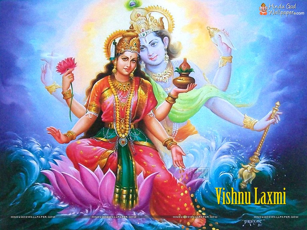 Free Vishnu Laxmi Wallpaper Download | god in 2019 | Lord