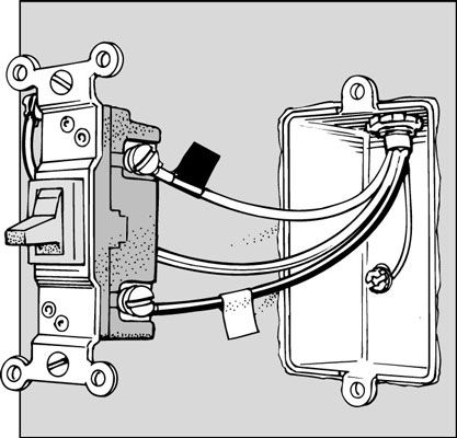 how to replace a three way dual location light switch. Black Bedroom Furniture Sets. Home Design Ideas