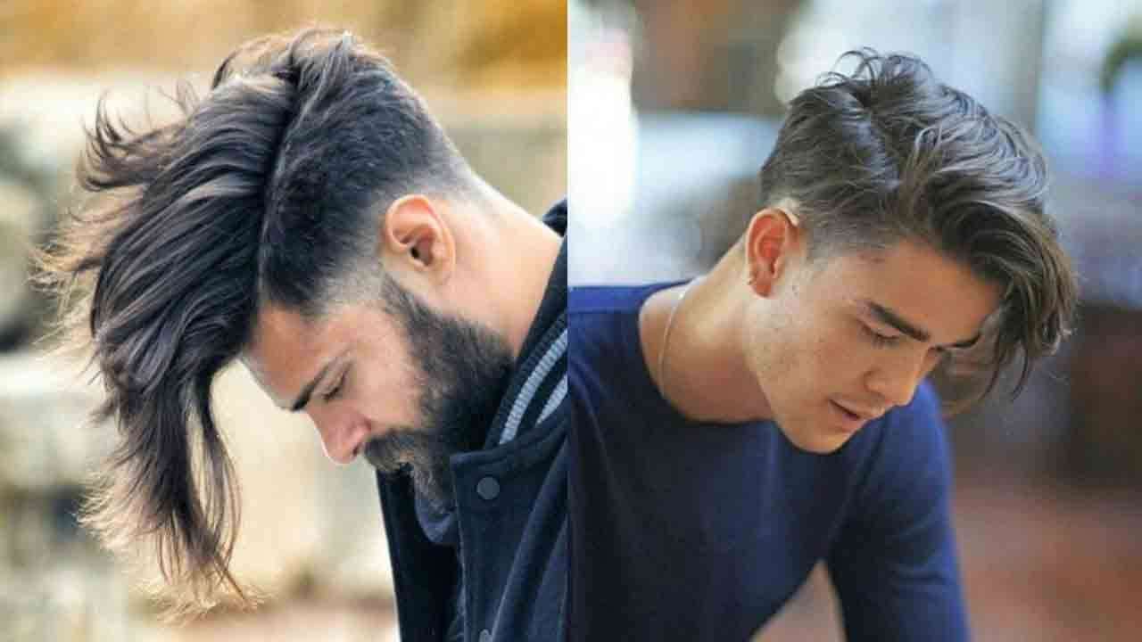 Men long haircuts long side part best long haircuts and hairstyles for men in
