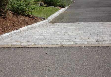 Cobblestone Belgium Block In Ct Cobblestone Driveway Cobblestone Stone Driveway