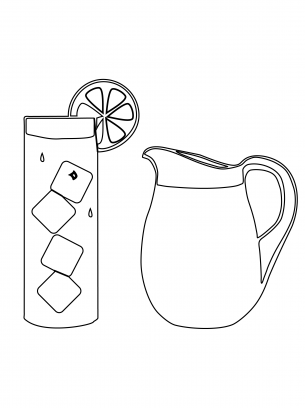 Drink Coloring Sheet  Printable Coloring Pages  Pinterest  Kids