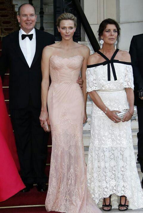 Natalia Vodianova, Charlene Wittstock, Princess Caroline