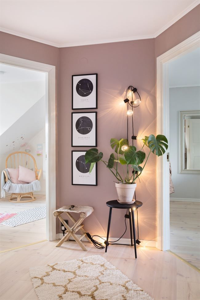 Photo of The renovation of a house in pastel colors