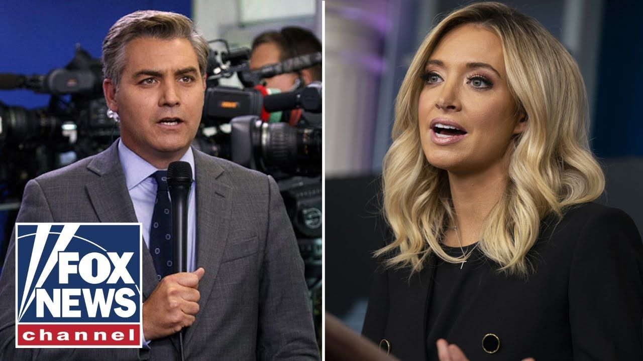 The Five Blasts Cnn S Jim Acosta For Misquoting Mcenany In A Tweet In 2020 Fox The Five Kayleigh Mcenany Cnn
