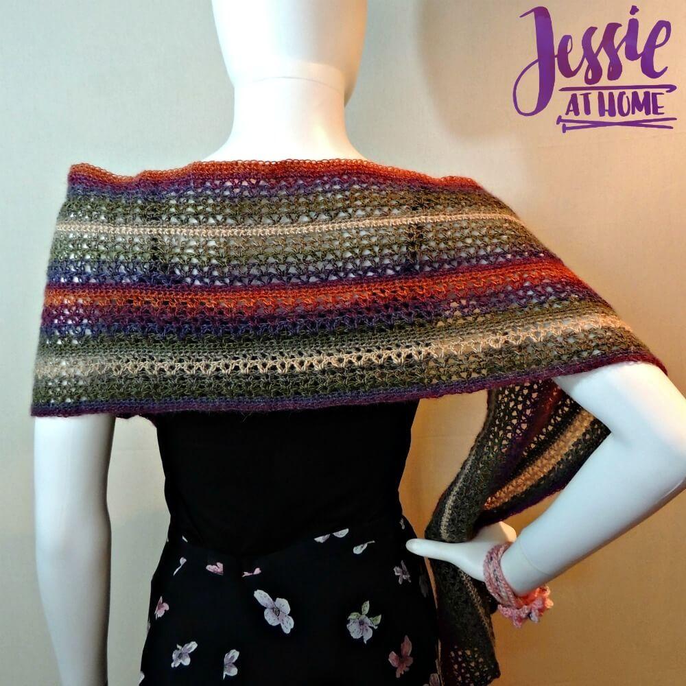 Julia Mini Crochet Wrap