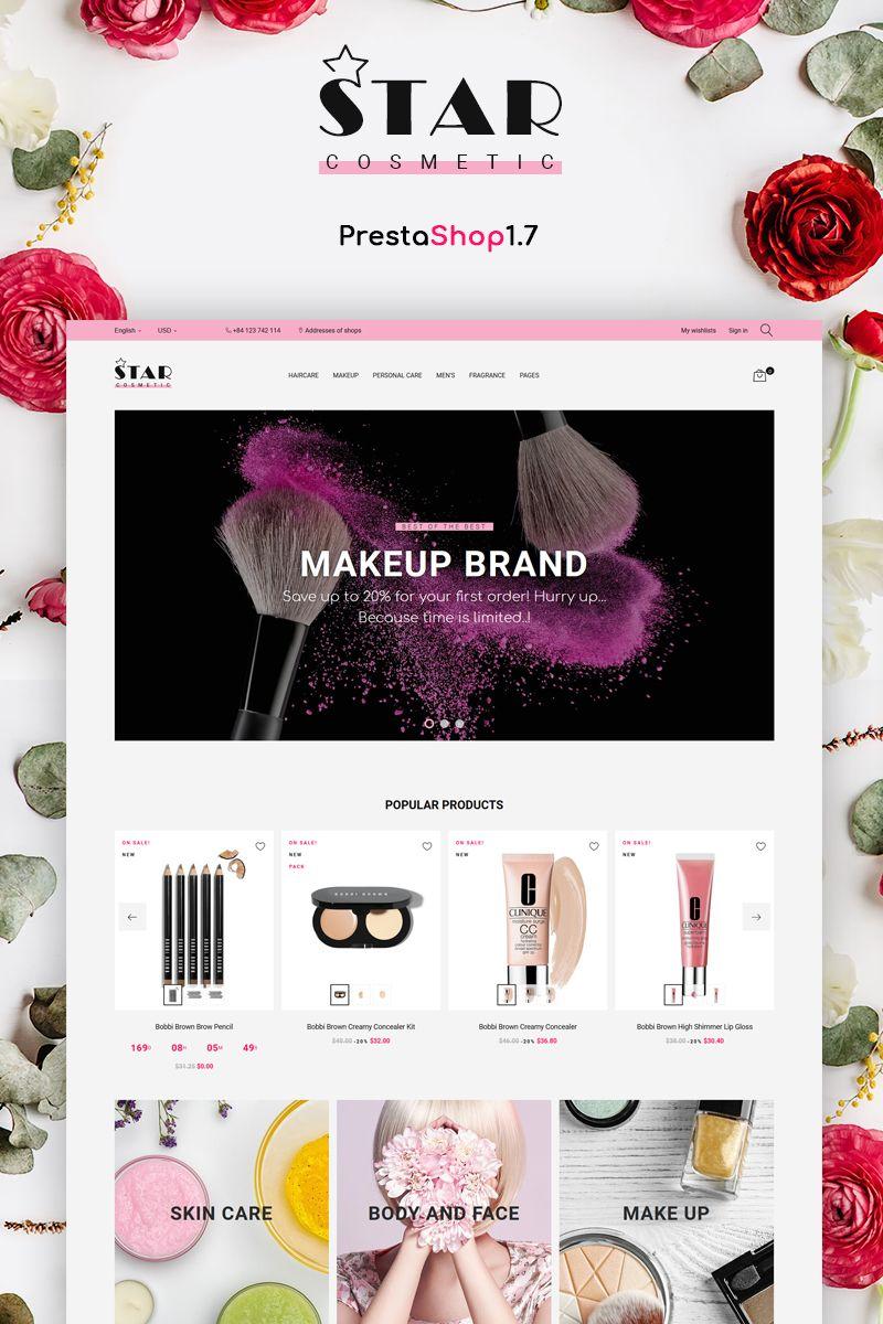 Star Cosmetic PrestaShop Theme Big Screenshot