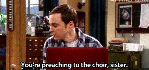 preaching to the choir brb fangirling pinterest big bang