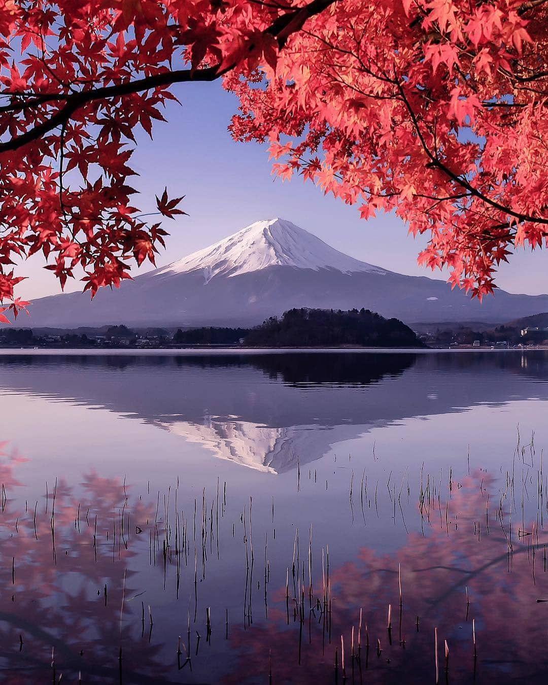 Beautiful Mt. Fuji In Japan From @number_shiiix