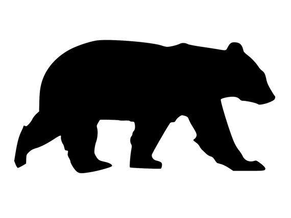 A4 Grizzly Bear 190 mm Mylar Stencil  sturdy A3***NEW*** A5