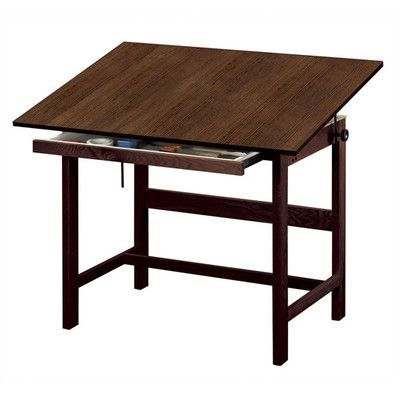 Alvin And Co An Melamine Office Height Drafting Table Size 48 W X