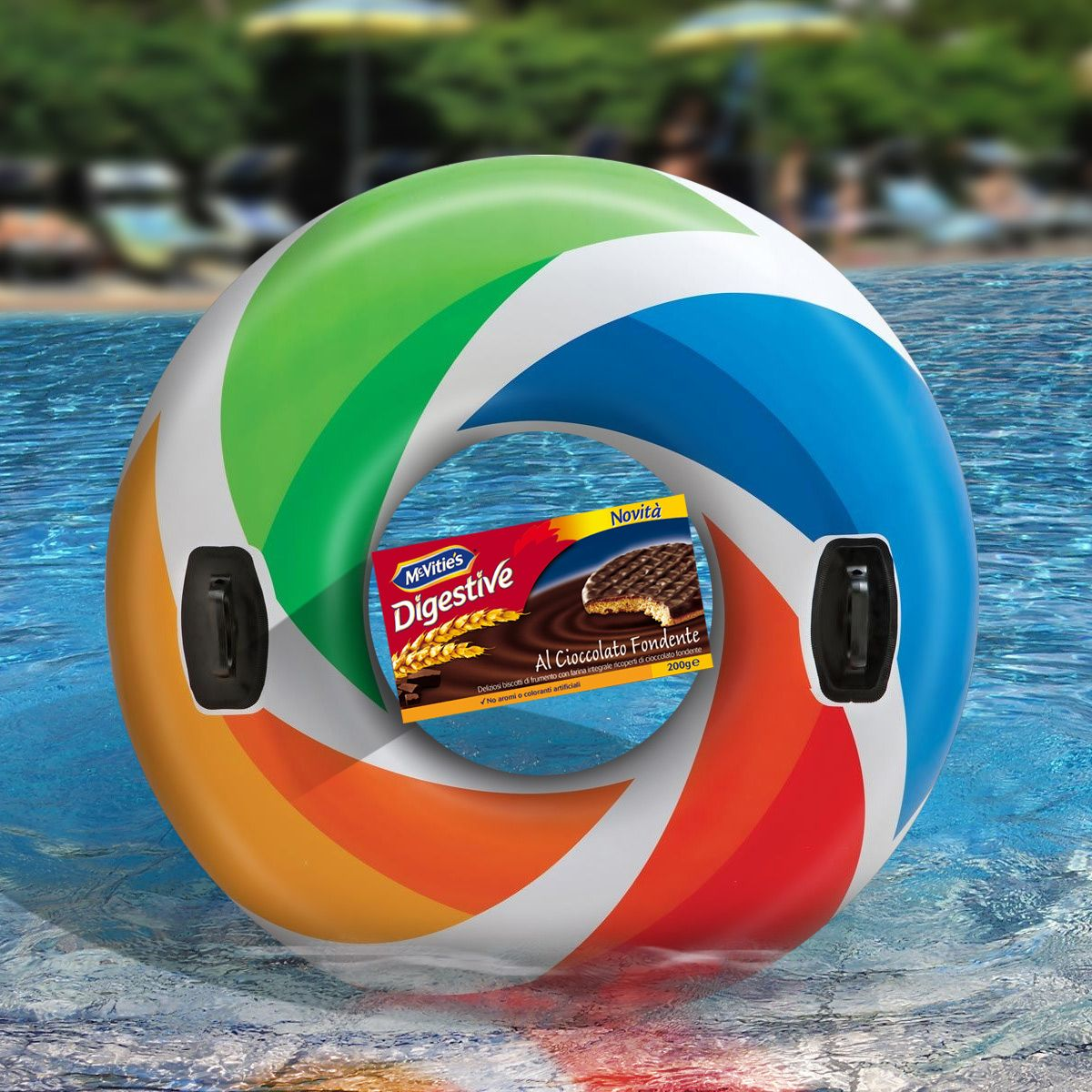 #mcvitiesitalia #mcvitiesdigestive #mcvitiescioccolatofondente #mcvities #giambella #piscina #summer #estate #divertimento #vacanze #holidays #food #cibo #sweet #dolce #biscuits #biscotto #nuotare #relax