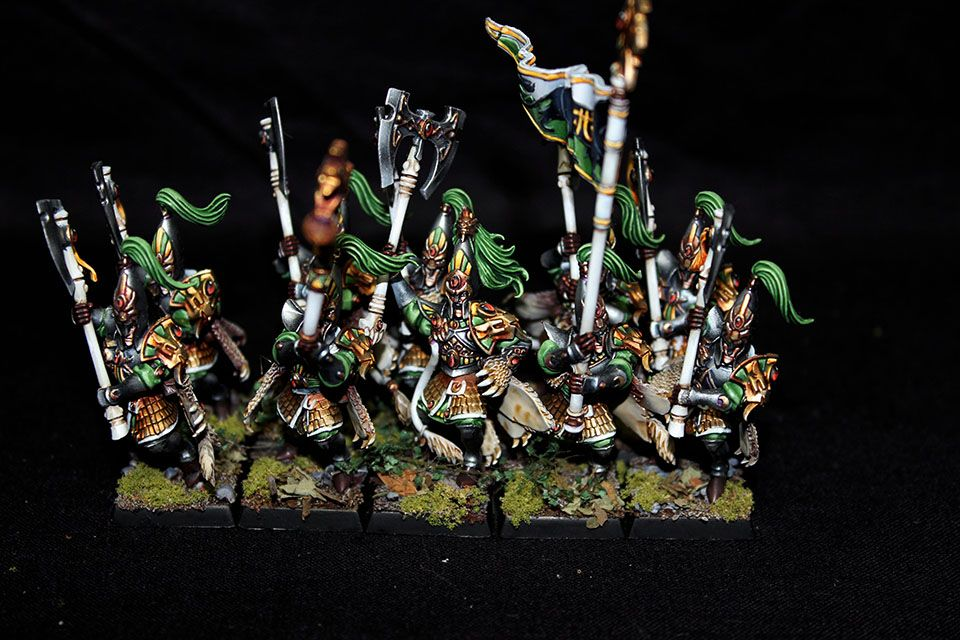Keith'-s Wargaming / Painting Blog: Army Focus - Warhammer High Elf ...