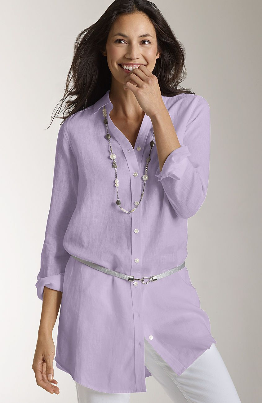 Misses Gt Timeless Linen Tunic At J Jill Need This For Work