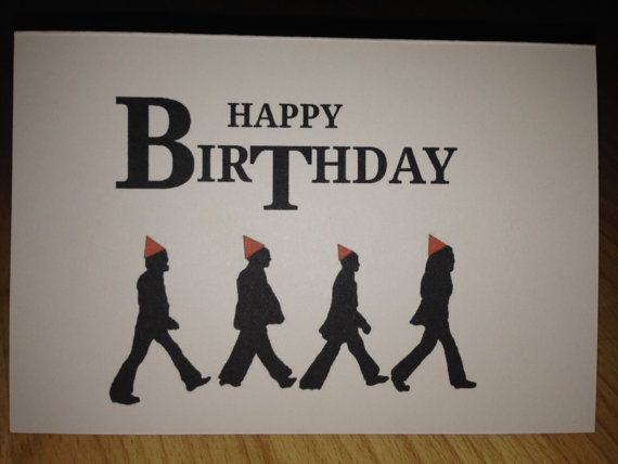 This Item Is Unavailable Etsy Beatles Birthday Happy Birthday Beatles Birthday Card Sayings