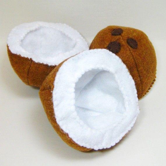 Coconut | Jake <3 Annabelle | Pinterest | Fieltro, Comida de y Feltro