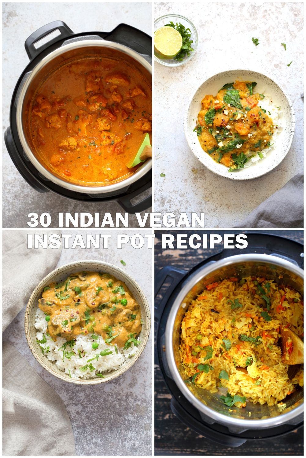 30 Instant Pot Vegan Indian Recipes Vegan Richa Vegan Indian Recipes Vegetarian Instant Pot Vegetarian Recipes Healthy