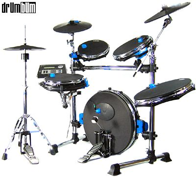 This Is Quieter Than His Regular Set Electric Drum Set Drum