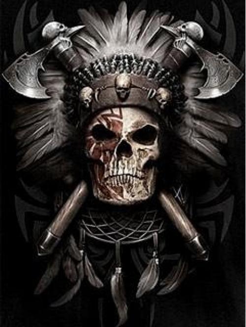06e600d53c078 Pin de Jorge Rivera en jr | Skull, Skull art y Indian skull tattoos