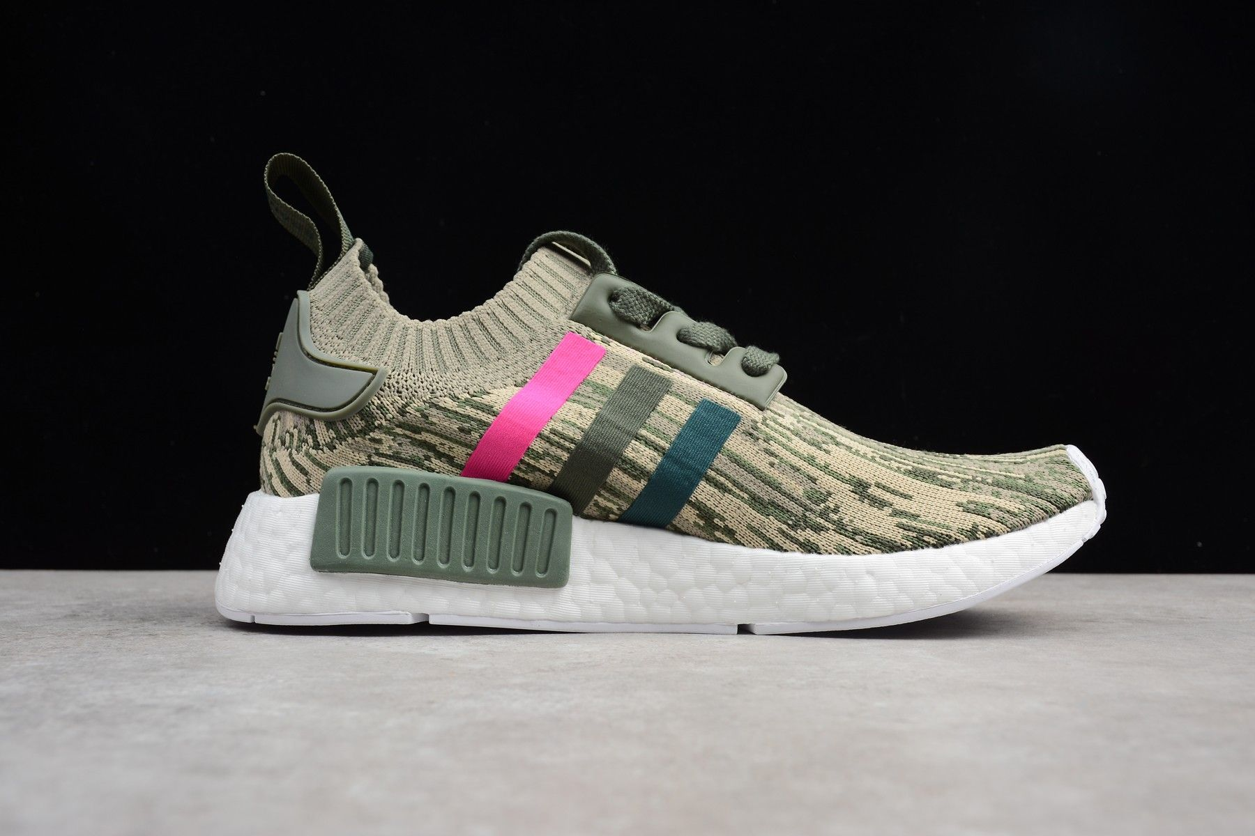"e9071b661 2018 adidas NMD R1 Primeknit ""Camo Pink Stripe"" BY9864 Singapore For Sale –  Adidas"