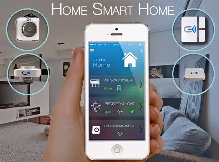 Smart House Phone cielo wigle smart home automation system (video) | gadgets | pinterest