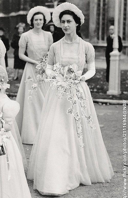 Princess Margaret Wedding.Princess Margaret As A Bridesmaid At The Wedding Of Her Secretary