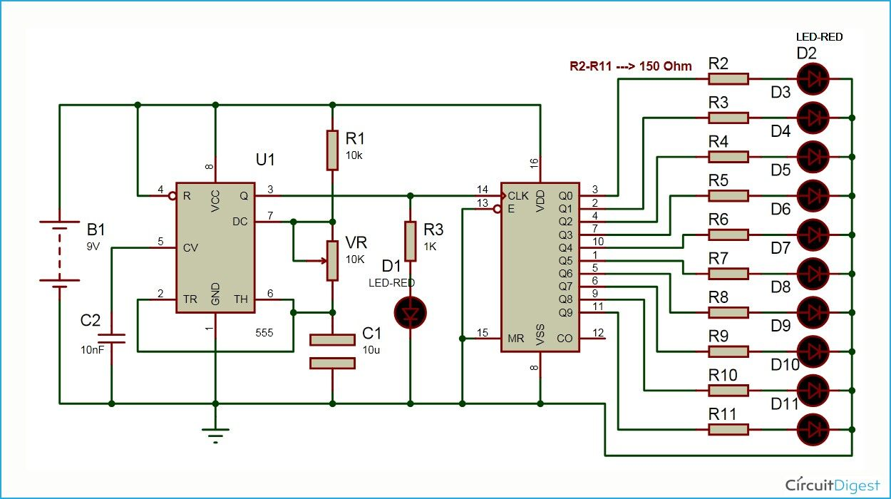 Pin By Vimalvj On Projects To Try Pinterest Electronics Clap Switch Circuit Mini Project Led