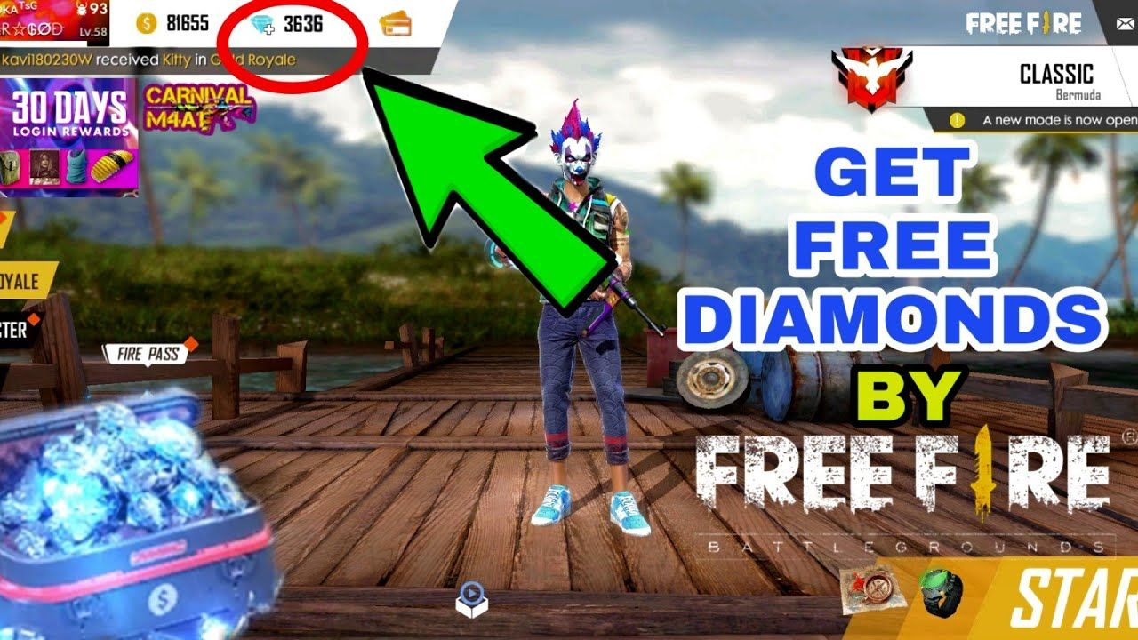 Garena Free Fire Hack Get Unlimited Free Coins and