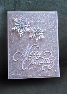 Glitter and Snowflakes - Scrapbook.com
