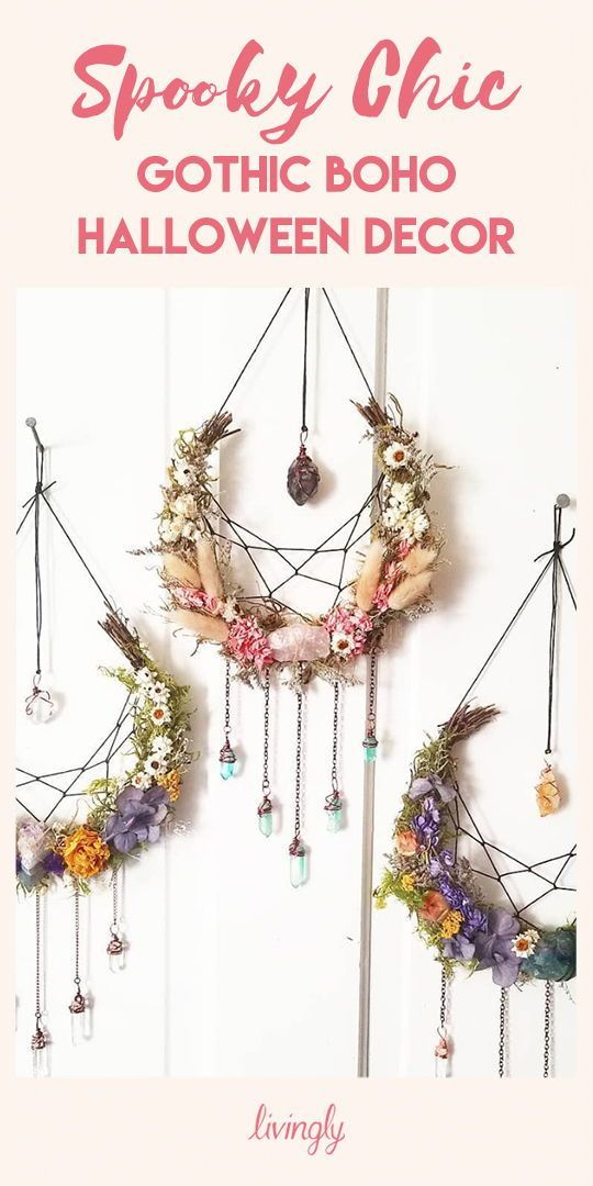22 boho halloween decor
