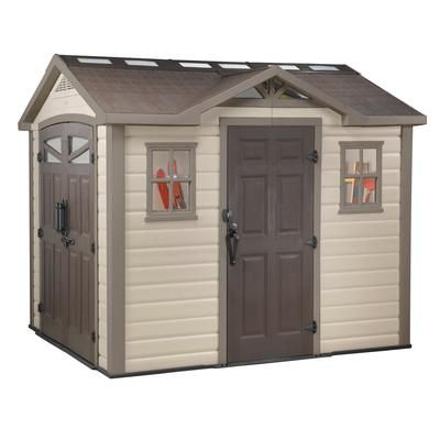 Keter   Summit Shed   8 Feet X 9 Feet   17190648   Home Depot Canada