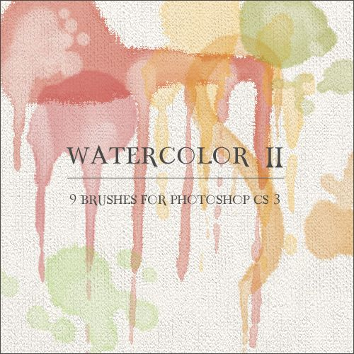 Watercolor Ii Photoshop Watercolor Brushes Free Download