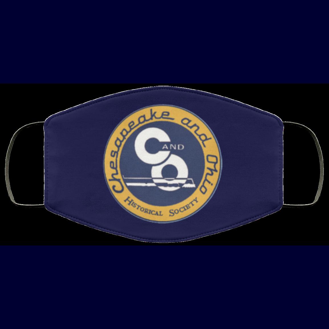 Chesapeake and Ohio Railway Logo Face Mask