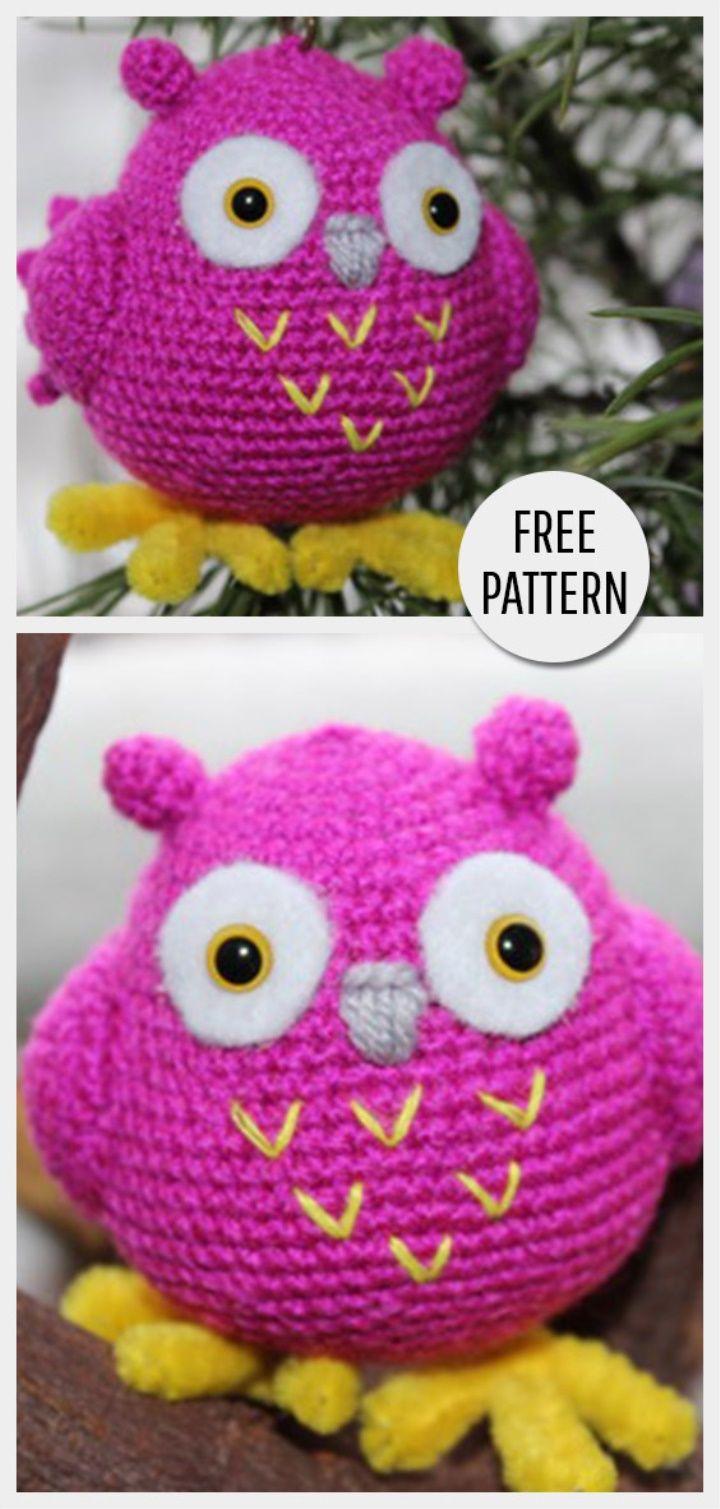Amigurumi Owl Free Pattern   Amigurumi   Pinterest   Patrones ...